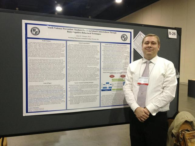 Poster Presentation @ the Association for Behavioral & Cognitive Therapies {November, 2012}{Proud Dr. V}