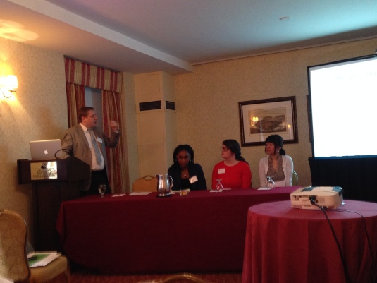 Paper Presentation @ the Eastern Psychological Association {March, 2014} {left to right: Dena
